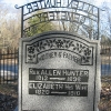 Allen Hunter Cemetery-Rev. Allen Hunter Monument