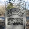 Allen Hunter Cemetery-Rev. Allen Hunter Monument