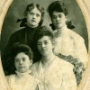 Charles T. Hunter's daughters